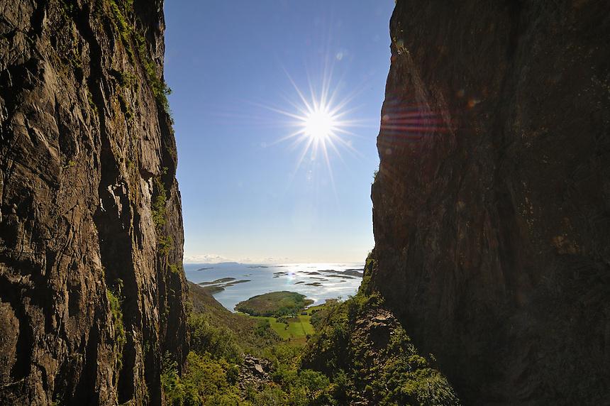 From Trollhatten mountain, Norway Landscape, landskap,