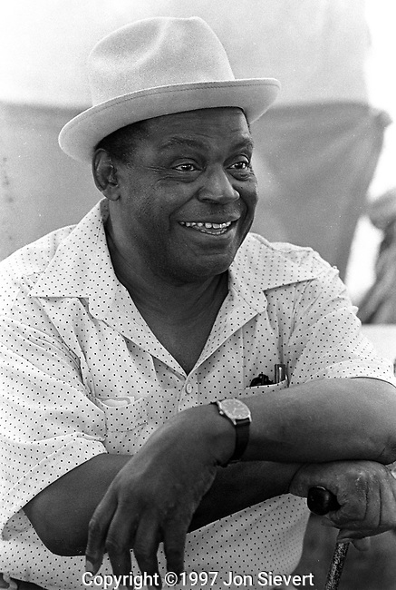 Willie Dixon, 9/10/83,San Francisco Blues Festival.<br />