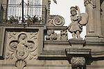 Detail on Town Hall Facade, Guimaraes, Minho, Portugal