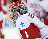 Anthony Moccia (BU - 1) - The visiting Northeastern University Huskies defeated the Boston University Terriers 6-5 on Friday, January 18, 2013, at Agganis Arena in Boston, Massachusetts.
