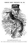 Punch's Fancy Portraits. - No. 164. Sir Joseph Bazalgette, C.B. He is great at drainage, and was made a Companion of the Bath.