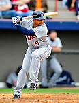 9 March 2010: Detroit Tigers' outfielder Carlos Guillen in action during a Spring Training game against the Washington Nationals at Space Coast Stadium in Viera, Florida. The Tigers defeated the Nationals 9-4 in Grapefruit League action. Mandatory Credit: Ed Wolfstein Photo