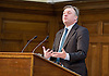 Ed Balls MP Shadow Chancellor of the Exchequer speaking at the UK Infrastructure Conference at ICE, One Great George Street, London, Great Britain on 3rd February 2015 <br /> <br /> Ed Balls MP <br /> <br /> <br /> <br /> Photograph by Elliott Franks <br /> <br /> Image licensed to Elliott Franks Photography Services