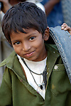 Pakistani boy  in Mirpurkhas, Sindh. This area has long been plagued by huge landowners forcing poor families into slavery.