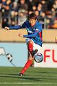 Kazuma Watanabe (F Marinos), DECEMBER 29, 2011 - Football / Soccer : 91st Emperor's Cup semifinal match between Yokohama F Marinos 2-4 Kyoto Sanga F.C. at National Stadium in Tokyo, Japan. (Photo by Hiroyuki Sato/AFLO)