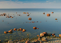 Baltic Sea Coast, Seascape on Saaremaa, Estonia