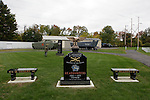 Monument rededicated during the rededication ceremony of the 1st Squadron, 9th Cavalry monument at Motts Military Museum in Groveport, Ohio.
