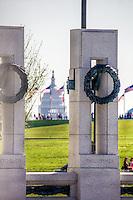 World War II Memorial US Capitol Washington DC Architecture