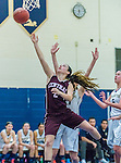Bristol Central @ Newington Varsity Girls Basketball 2014-15