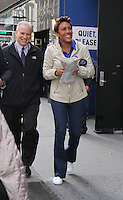 NEW YORK, NY- OCTOBER 13: Robin Roberts seen at Good Morning America in New York City on October 12, 2016. Credit: RW/MediaPunch