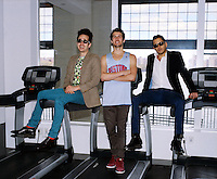 Rap Genius creators Tom Lehman, 28, Ilan Zechory, 28, and Mahbod Moghadam, 29, at their headquarters in Williamsburg. ..Danny Ghitis for The New York Times