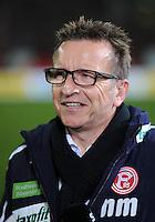 FUSSBALL   DFB POKAL   SAISON 2011/2012  ACHTELFINALE  Fortuna Duesseldorf - Borussia Dortmund              20.12.2011 Trainer Norbert Meier (Fortuna Duesseldorf)