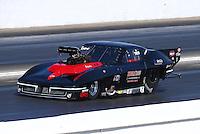 May 13, 2016; Commerce, GA, USA; NHRA pro mod driver Gerry Capano during qualifying for the Southern Nationals at Atlanta Dragway. Mandatory Credit: Mark J. Rebilas-USA TODAY Sports