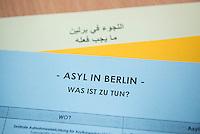 2015/11/27 Berlin | Flüchtlingsunterkunft