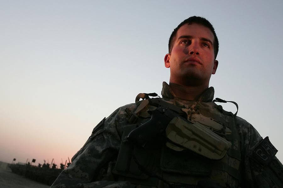 Capt. Brad Velotta, commanding officer Bravo Co. 4th Battalion 23rd Infantry Regiment 172nd Stryker Brigade.