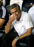 FUSSBALL  INTERNATIONAL  PRIMERA DIVISION  SAISON 2011/2012   23.08.2012 El Clasico  Super Cup 2012 FC Barcelona - Real Madrid  Trainer Jose Mourinho (Real Madrid)