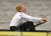 Chiswick, London. ENGLAND,11.03.2006, Nereus, Netherlands, starting in third position, move past Chiswick Pier, during the 2006 Women's Head of the River Race raced between, Mortlake to Putney  on Saturday 11th March    © Peter Spurrier/Intersport-images.com.. 2006 Women's Head of the River Race. Rowing Course: River Thames, Championship course, Putney to Mortlake 4.25 Miles