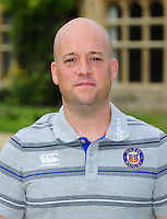 Cerian Parham poses for a portrait at a Bath Rugby photocall. Bath Rugby Media Day on August 24, 2016 at Farleigh House in Bath, England. Photo by: Patrick Khachfe / Onside Images