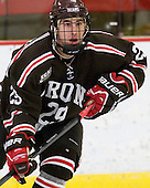 Massimo Lamacchia (Brown - 29) - The Harvard University Crimson defeated the visiting Brown University Bears 3-2 on Friday, November 2, 2012, at the Bright Hockey Center in Boston, Massachusetts.