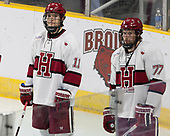 Ty Pelton-Byce (Harvard - 11), Lewis Zerter-Gossage (Harvard - 77) - The Harvard University Crimson defeated the Air Force Academy Falcons 3-2 in the NCAA East Regional final on Saturday, March 25, 2017, at the Dunkin' Donuts Center in Providence, Rhode Island.