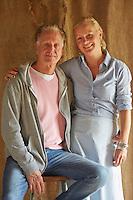 Olivia Pomp and her husband Gary Rowland