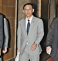 June 26, 2012, Tokyo, Japan : President of the Liberal Democratic Party, Sadakazu Tanigaki walks after the lower house plenary session at the Parliament in Tokyo, Japan, on June 26, 2012.