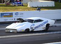 Jun 10, 2016; Englishtown, NJ, USA; NHRA pro mod driver Chip King during qualifying for the Summernationals at Old Bridge Township Raceway Park. Mandatory Credit: Mark J. Rebilas-USA TODAY Sports