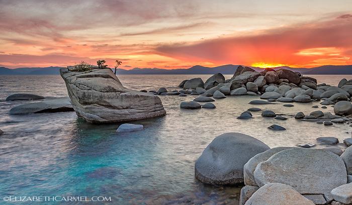 Sunset Blaze, Lake Tahoe