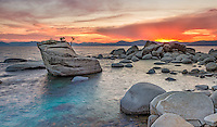 Sunset Blaze, Lake Tahoe