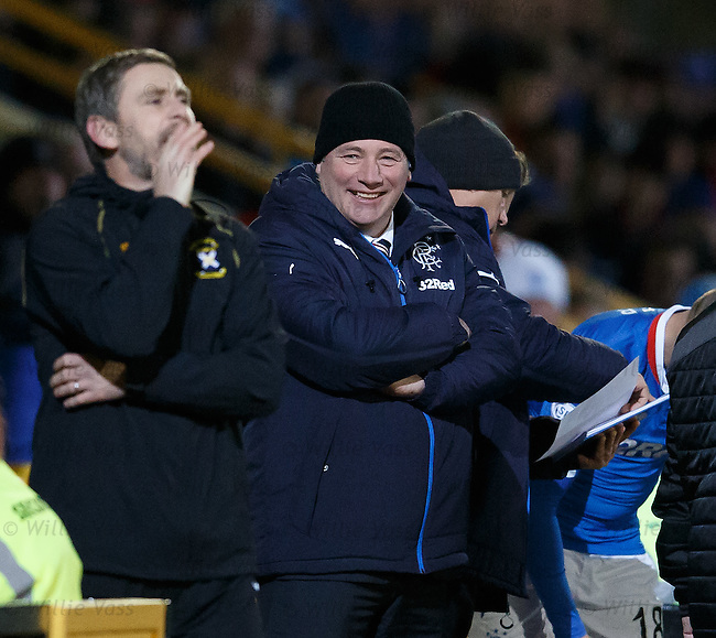 Ally McCoist laughing