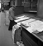 Wartime Newspaper Vendor
