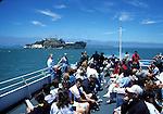 Blue and Gold Fleet boat to Alcatraz Island