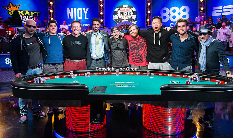 2015 WSOP Event #68 Day 3-7: No-Limit Hold'em MAIN EVENT