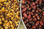 Dates in a market in Muscat, Oman.