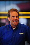 May 6, 2012; Commerce, GA, USA: ESPN announcer Mike Dunn during the NHRA Southern Nationals at Atlanta Dragway. Mandatory Credit: Mark J. Rebilas-