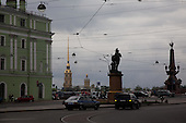 savorovskaya square, saint petersburg.///.place savorovskaya. Saint petersbourg