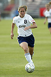 18 June 2004: Brooke O'Hanley. The Atlanta Beat tied the New York Power 2-2 at the National Sports Center in Blaine, MN in Womens United Soccer Association soccer game featuring guest players from other teams.