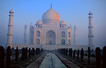 Asia, India, Agra. Taj Mahal.
