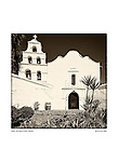 Bell tower fa&ccedil;ade, San Diego de Alcal&aacute; by Larry Angier.<br /> <br /> Father Jun&iacute;pero Serra's 1st Alta California mission founded July 16, 1769.