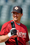 10 March 2006: Jason Lane, outfielder for the Houston Astros, prior to a Spring Training game against the Washington Nationals. The Astros defeated the Nationals 8-6 at Osceola County Stadium, in Kissimmee, Florida...Mandatory Photo Credit: Ed Wolfstein..