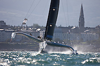 MOD70 European Tour 2012. Leg 2. Dublin Ireland..Credit: Lloyd Images