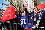 Giants Super Bowl XLVI victory parade fans