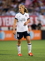 Lindsey Horan.  The USWNT defeated Brazil, 4-1, at an international friendly at the Florida Citrus Bowl in Orlando, FL.