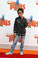 WESTWOOD, CA - OCTOBER 23: Nicolas Bechtel at the premiere Of 20th Century Fox's 'Trolls' at Regency Village Theatre on October 23, 2016 in Westwood, California. Credit: David Edwards/MediaPunch