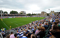 A general view of the Recreation Ground pitch prior to the match. Aviva Premiership match, between Bath Rugby and Worcester Warriors on September 17, 2016 at the Recreation Ground in Bath, England. Photo by: Joseph Meredith / JMP for Onside Images
