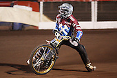 Kim Nilsson of Lakeside Hammers - Lakeside Hammers Open Evening at the Arena Essex Raceway, Pufleet - 23/03/12 - MANDATORY CREDIT: Rob Newell/TGSPHOTO - Self billing applies where appropriate - 0845 094 6026 - contact@tgsphoto.co.uk - NO UNPAID USE..