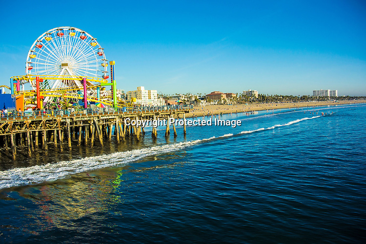 Stock photo of Santa Monica