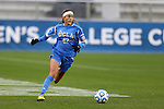 08 December 2013: UCLA's Ally Courtnall. The Florida State University Seminoles played the University of California Los Angeles Bruins at WakeMed Stadium in Cary, North Carolina in a 2013 NCAA Division I Women's College Cup championship game. UCLA won the game 1-0 in overtime.