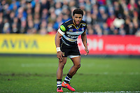 Kyle Eastmond of Bath Rugby looks on. Aviva Premiership match, between Bath Rugby and London Irish on March 5, 2016 at the Recreation Ground in Bath, England. Photo by: Patrick Khachfe / Onside Images