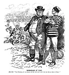 "Barbarians at Play. John Bull. ""Play football, by all means, my boy - but don't let it be this brutal sort of thing!"""